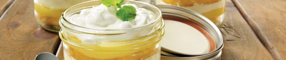 Bolo no pote de vidro é receita fácil e deliciosa!