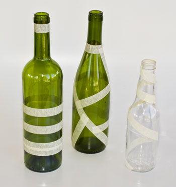 garrafa com fita crepe 2