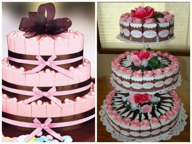 Caixas de lembrancinhas em formato de fatias de bolo! - Acesse: https://pitacoseachados.wordpress.com - Blog Pitacos e Achados! - Acesse: https://pitacoseachados.wordpress.com- #pitacoseachados