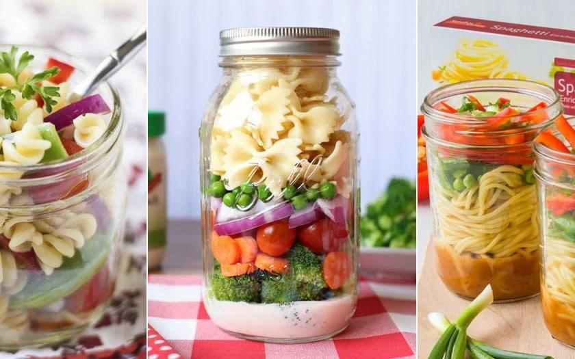 Comida em pote de vidro - prática e saudável! - pitacos e achados 6