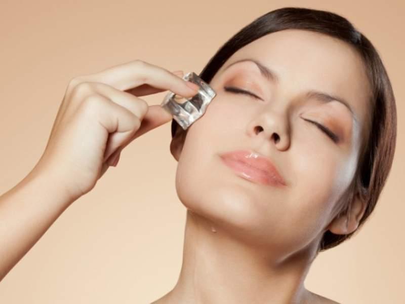 6 utilidades do gelo nos cuidados com a beleza - pitacos e achados