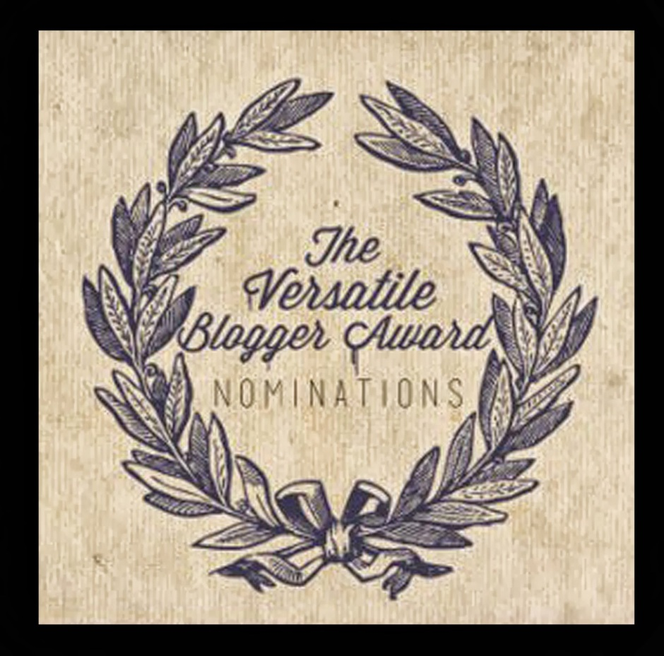 Tag Versatile Blogger Award