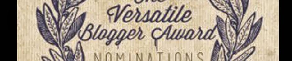 Tag Versatile Blogger Award