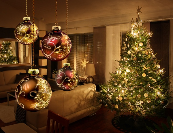 decorar uma arvore de natal : decorar uma arvore de natal:Como decorar uma árvore de Natal – Parte I