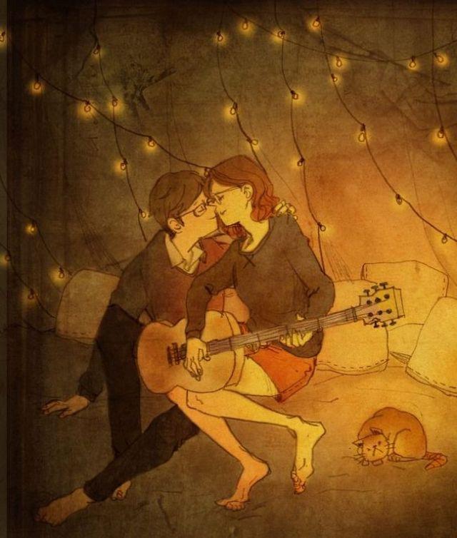 O amor está nas pequenas coisas...