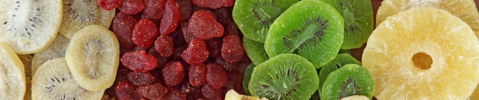 Benefícios das frutas desidratadas