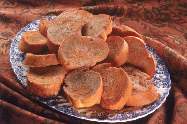 rabanada - Pratos tradicionais da ceia de Natal