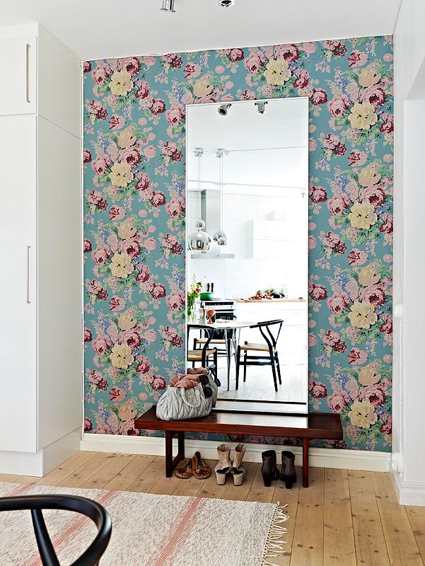 decorar gastando pouco papel de parede