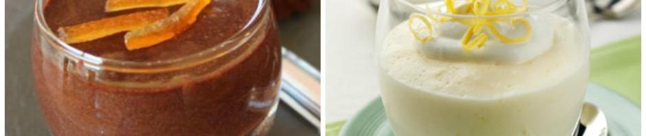 Receitas deliciosas de mousse de chocolate com toque especial