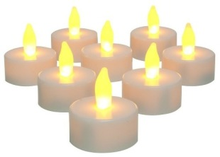 VELAS LED - pitacos e achados