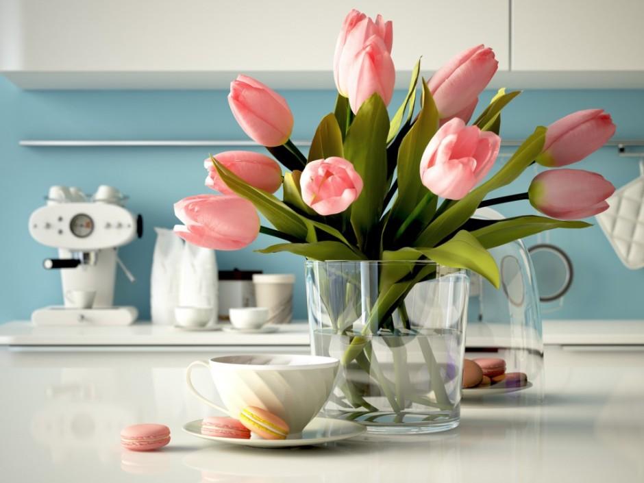 Flores para colorir sua casa no inverno