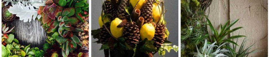 Decoração de Natal: 7 ideias que levam frutas e flores naturais