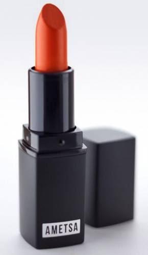 Ametsa maquiagem vegana para todos - blog pitacos e achados - alaranjado matte acetinado