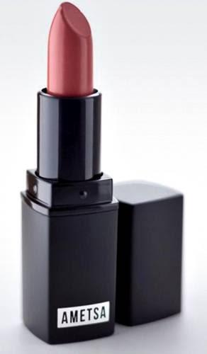 Ametsa maquiagem vegana para todos - blog pitacos e achados - batom rosa
