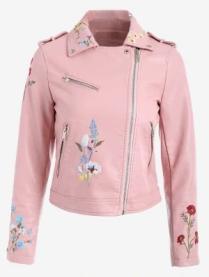 Confira 6 razões para investir em uma jaqueta - pitacos e achados - jaqueta rosa bordada